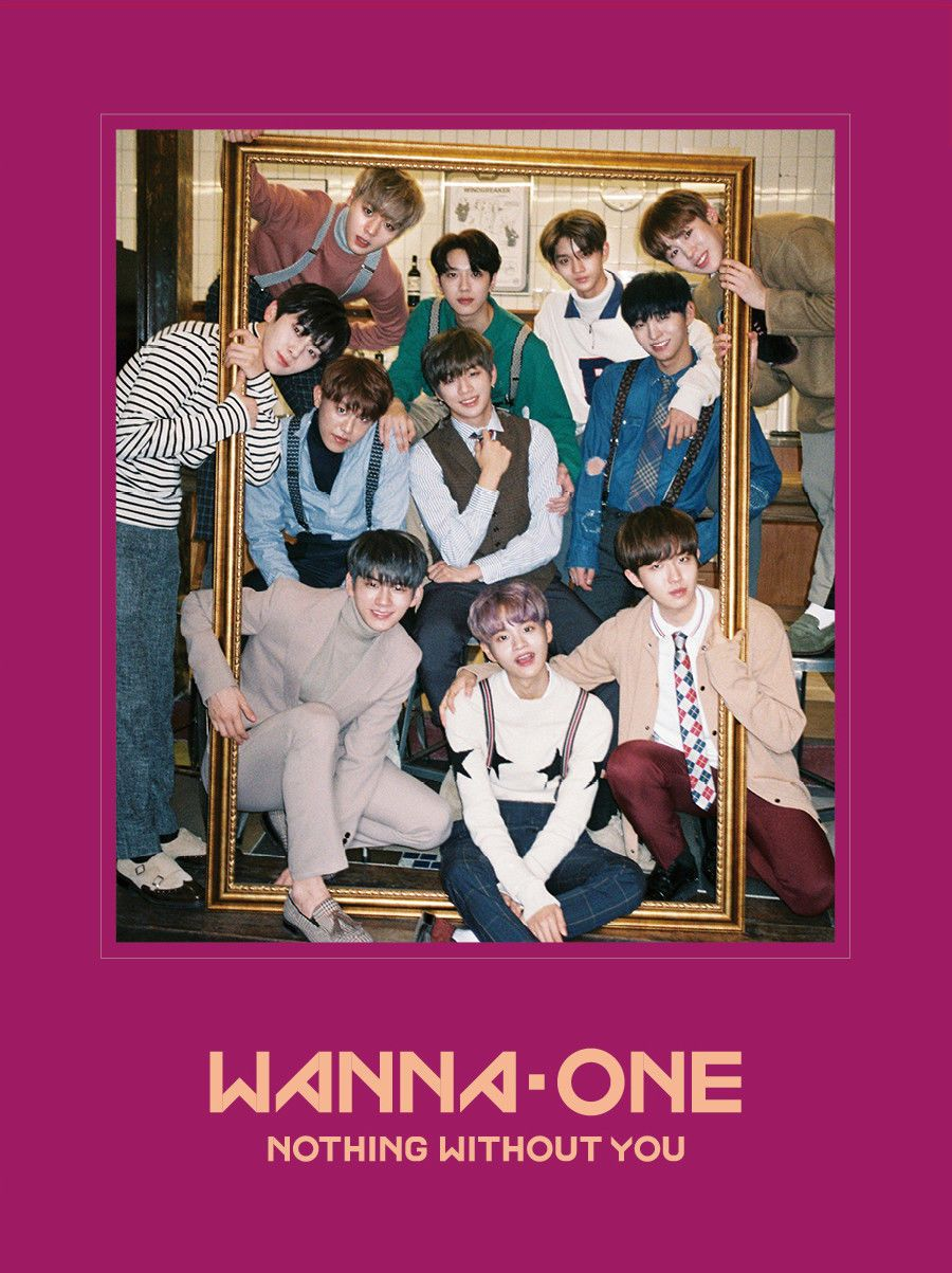Wanna One 1st Mini Repackage Album 1 1 0 Nothing Without You