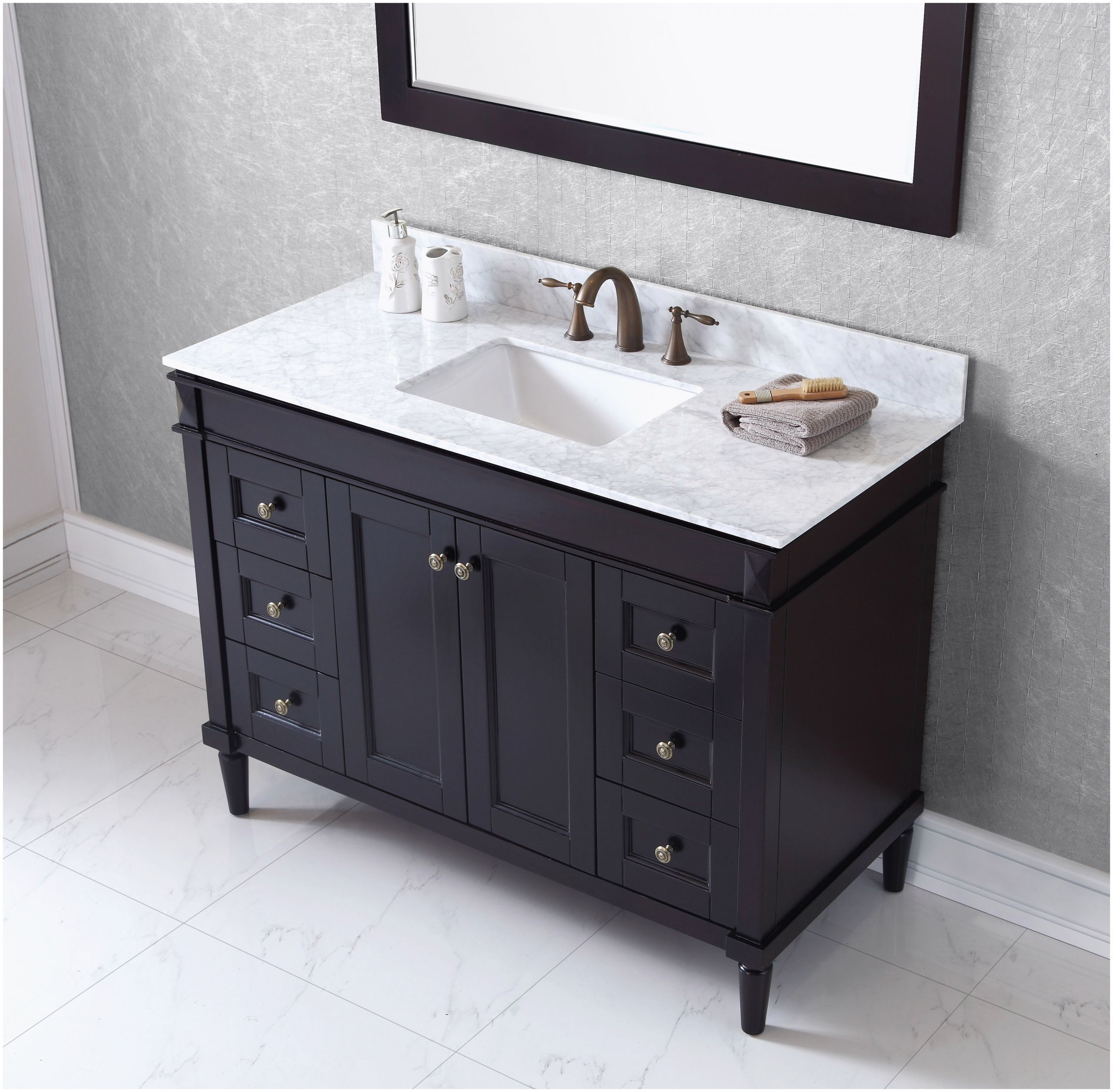 Bathroom Vanities Tops Lowes In 2020 Bathroom Vanity 48 Inch