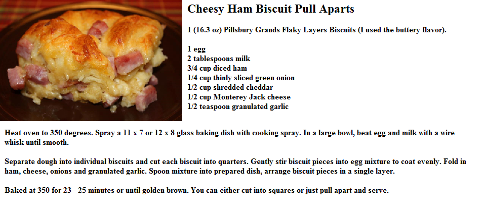 """Easy"" Cheesy Bacon Biscuit Pull-Aparts Recipe — Dishmaps"