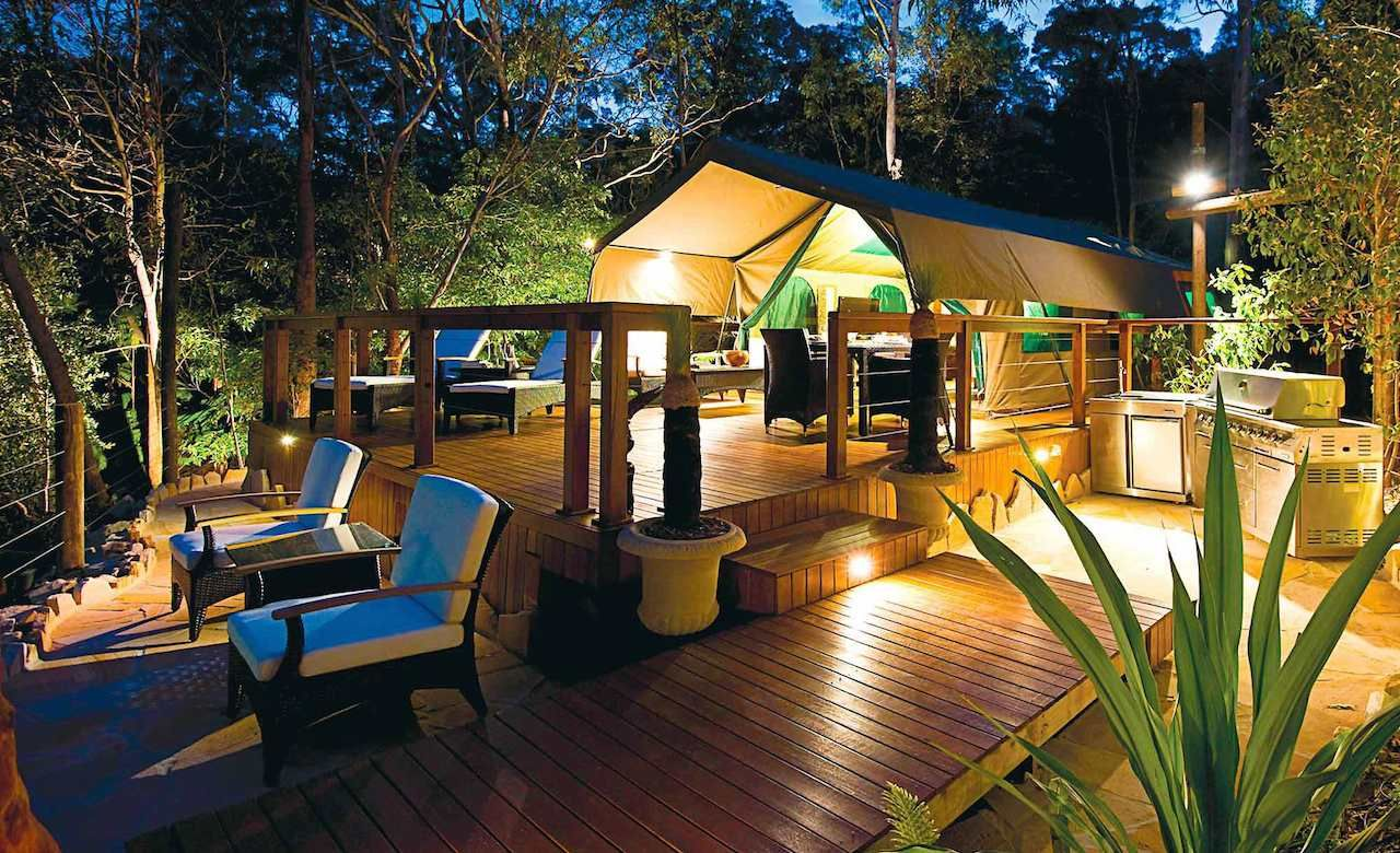tandara-This luxury camping option within Lane Cove National