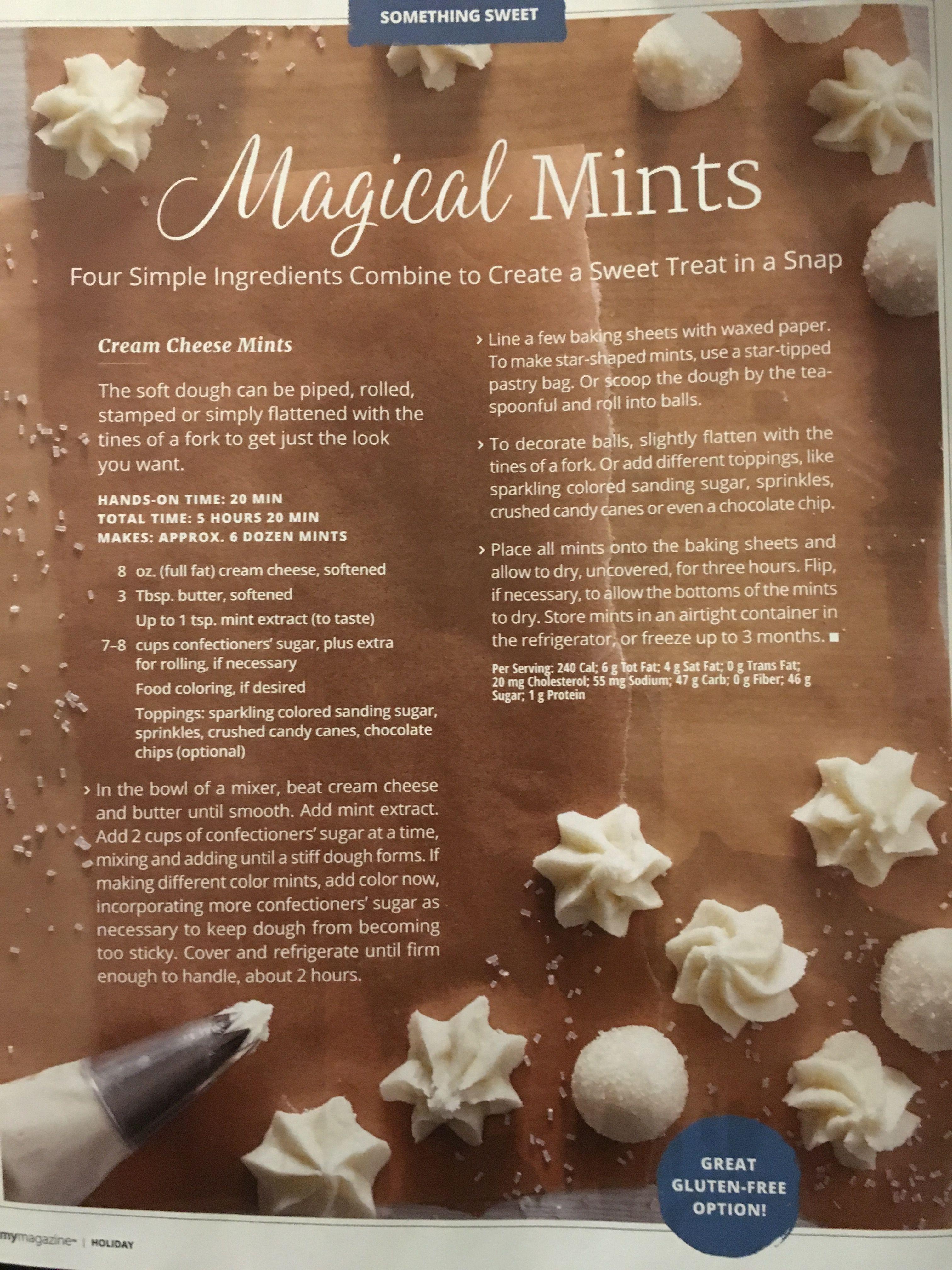 kroger my magazine mint recipe christmas stuff christmas 2017 christmas treats christmas baking - Kroger Christmas Hours