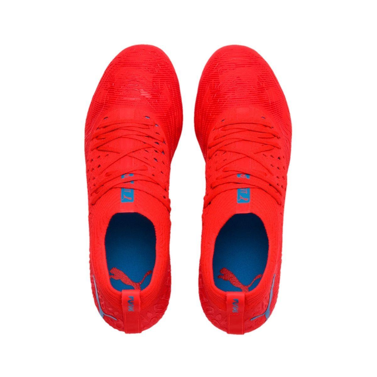 chaussures de foot puma future bleu