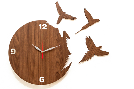 Modern Artistic Wall Clock · Wall ClocksInnovation
