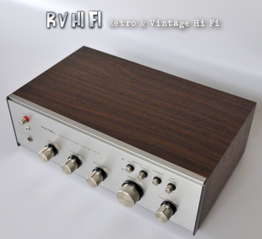 rotel ra 211 stereo intergrated amplifier rv hifi online. Black Bedroom Furniture Sets. Home Design Ideas