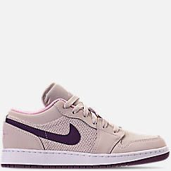 more photos 828ca 9f9f6 Girls  Big Kids  Air Jordan 1 Low (3.5y - 9.5y) Casual Shoes
