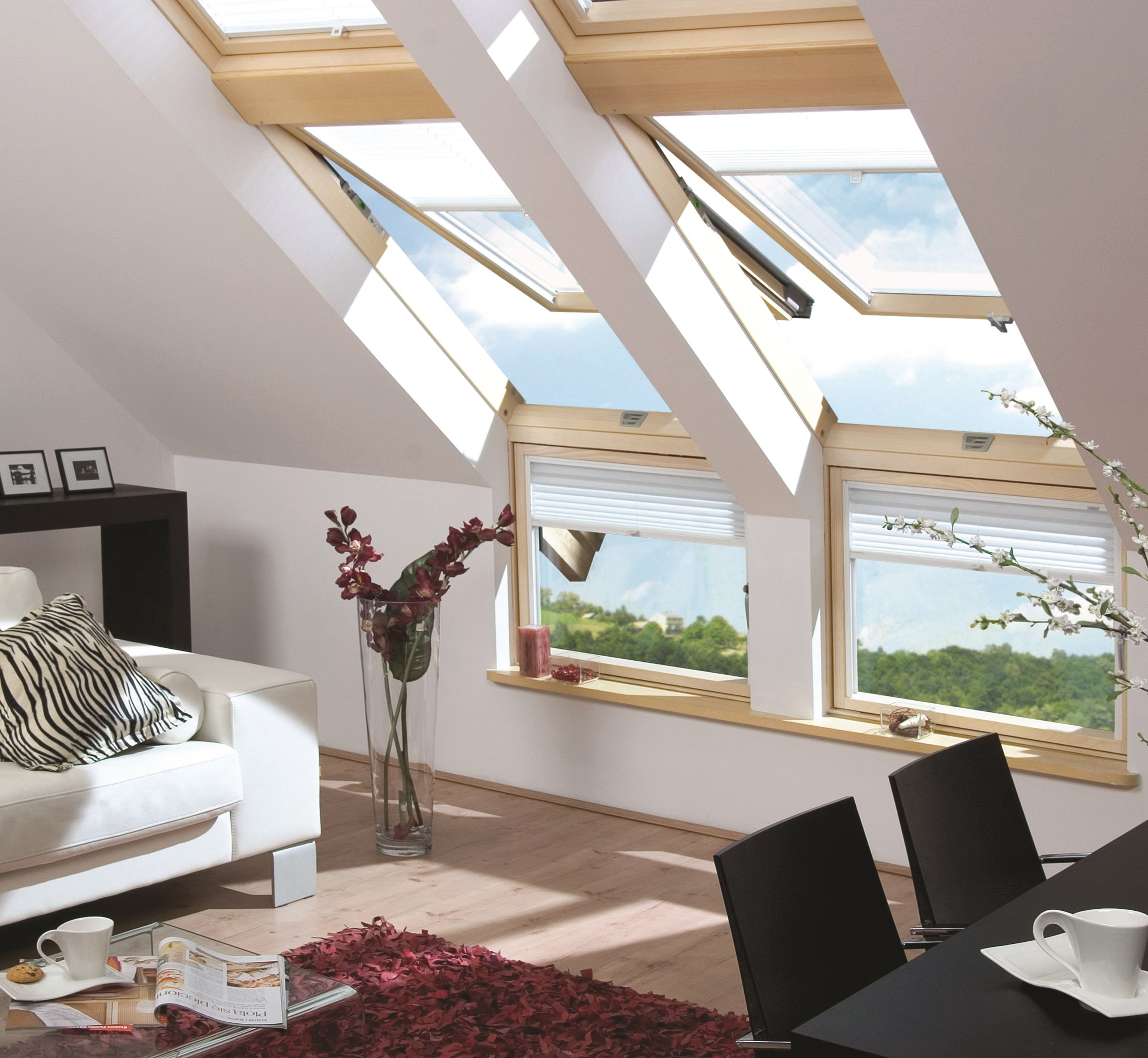 fakro design idea. Growing In Popularity Is The FAKRO L-shaped Window, Where A Pitched Roof Window Fakro Design Idea