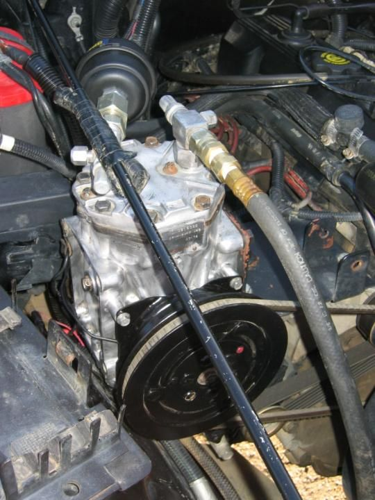 York Compressor Install Air Compressor Jeep Yj Jeep