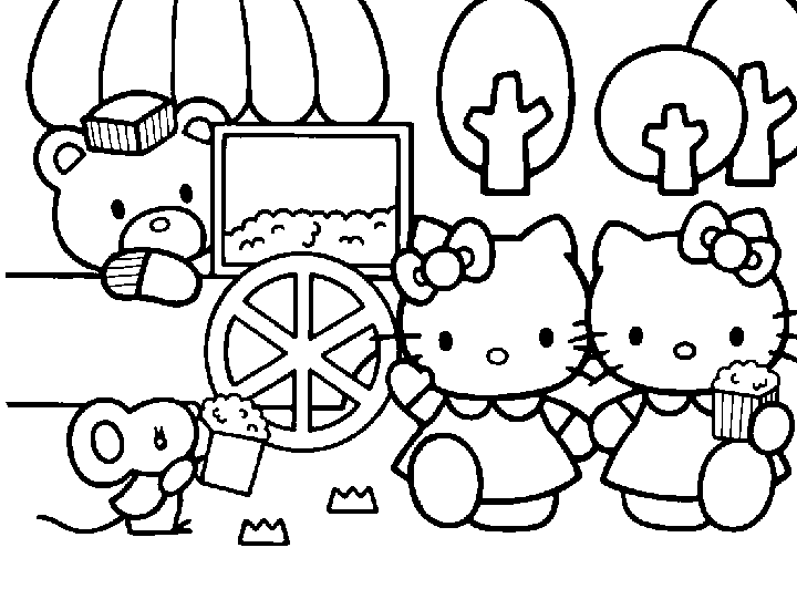 Kitty15 Gif 720 532 Pixels Hello Kitty Colouring Pages Hello Kitty Coloring Kitty Coloring