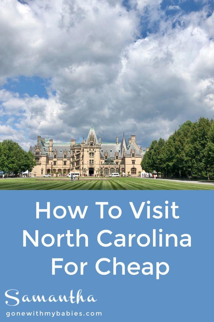 How to visit North Carolina for cheap #northcarolina #travel #usa #budgettravel