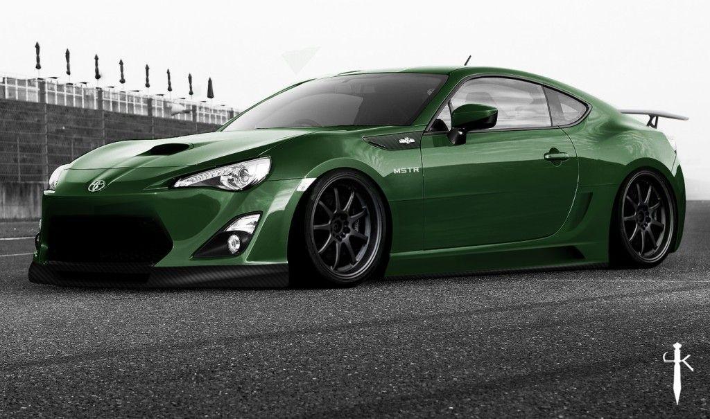 GT86 green