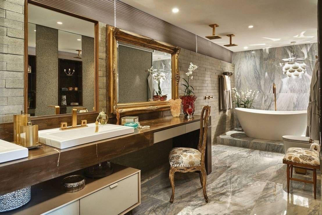 Banheiros E Lavabos Decorados Pesquisa Google Cozinhas  ~ Cadeiras Modernas Para Quarto E Quarto Com Closet E Suite