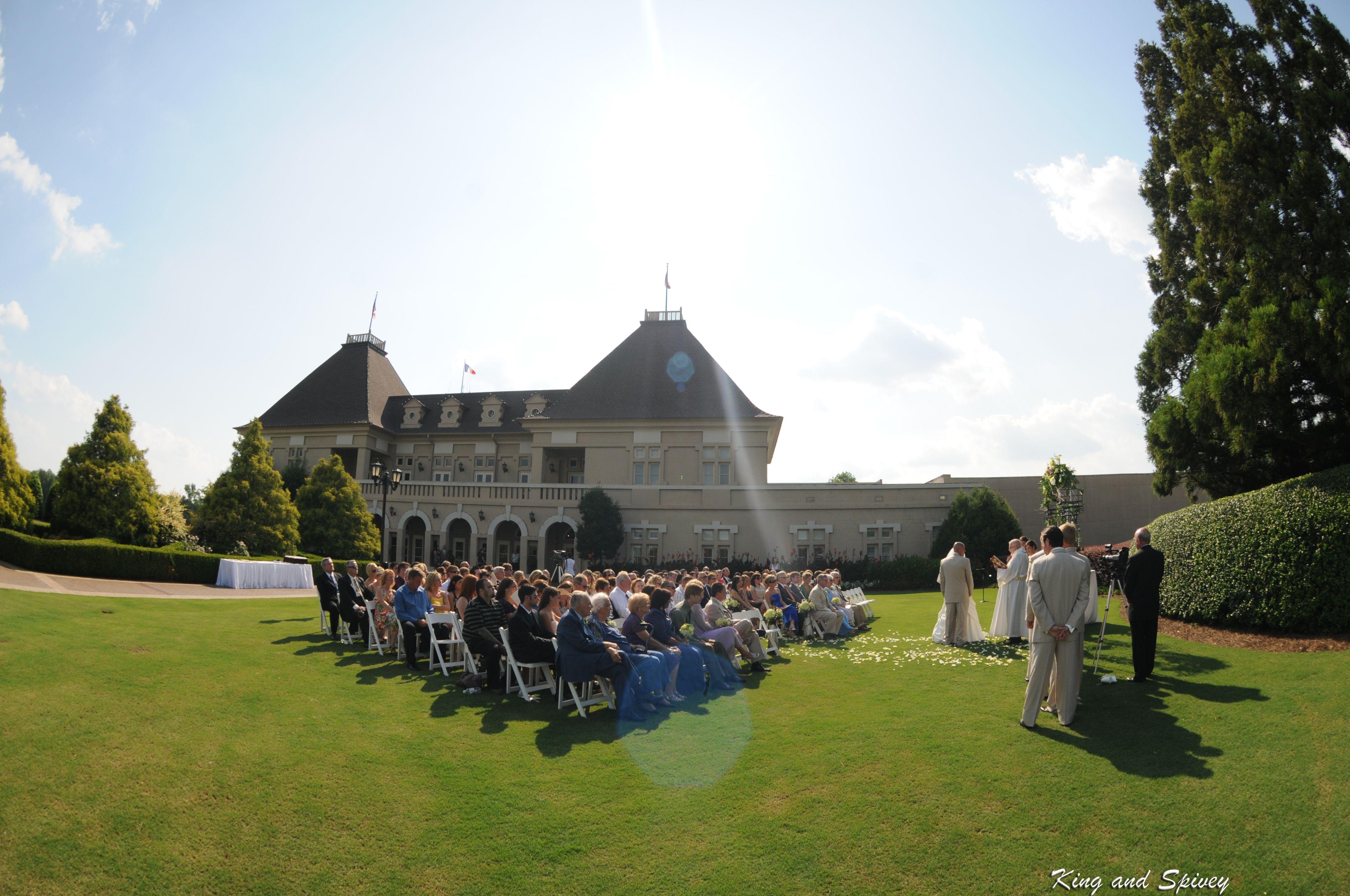 Wedding Venues in North Summer wedding ceremony