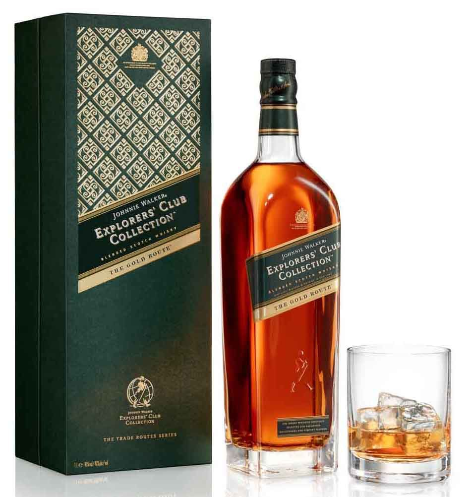 Johnnie Walker releases The Gold Route, part of its Explorers' Club Collection