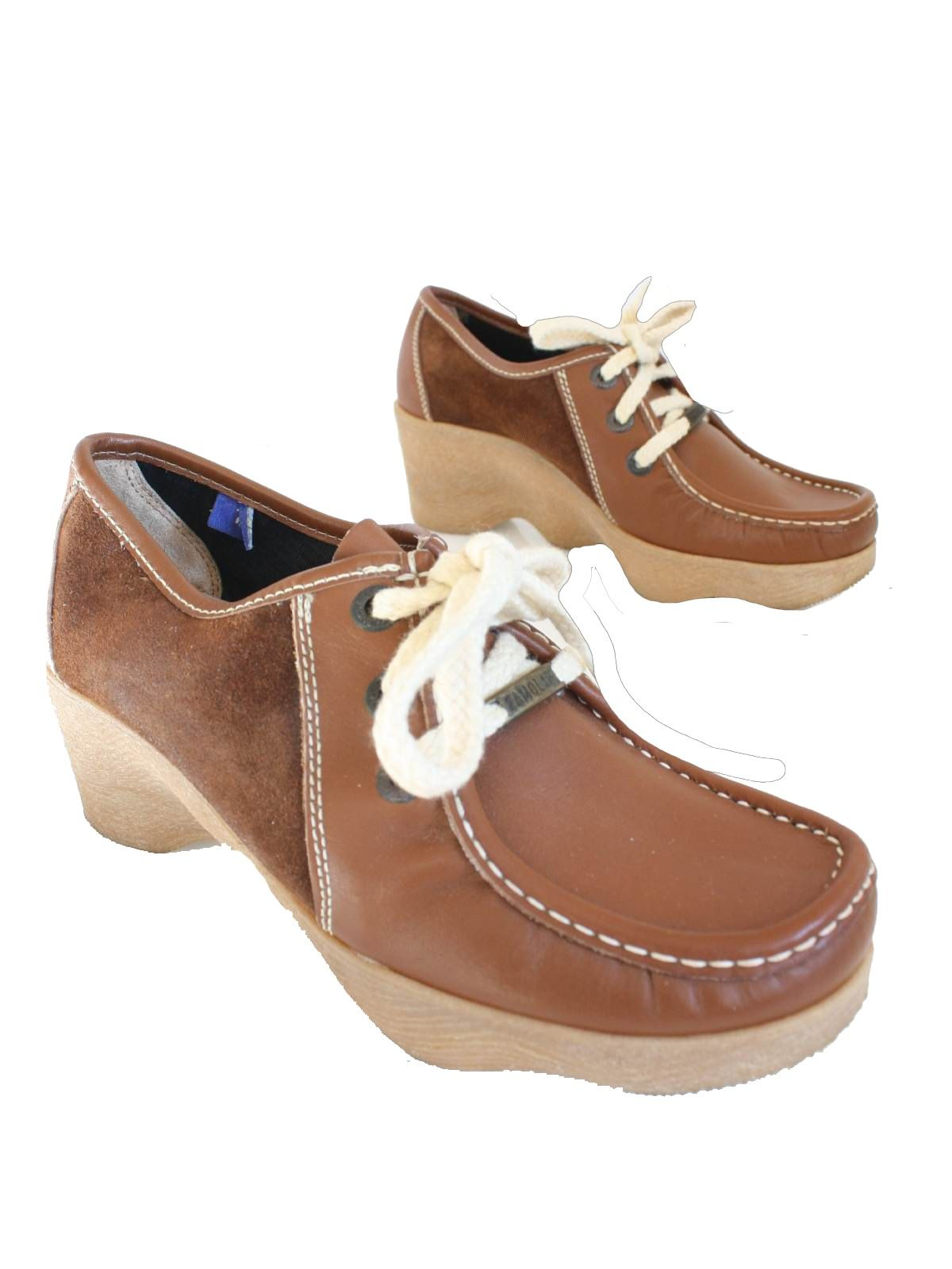 a14dbdcc3fb 1970 s Famolare Womens Suede Moccasin Shoes