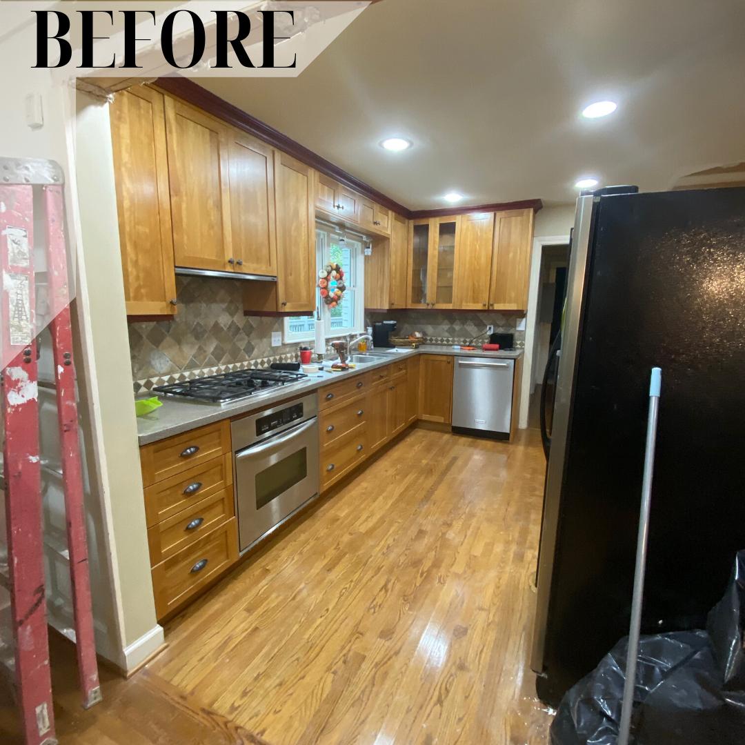 Before After Kitchen Remodel Bathrooms Remodel Kitchen