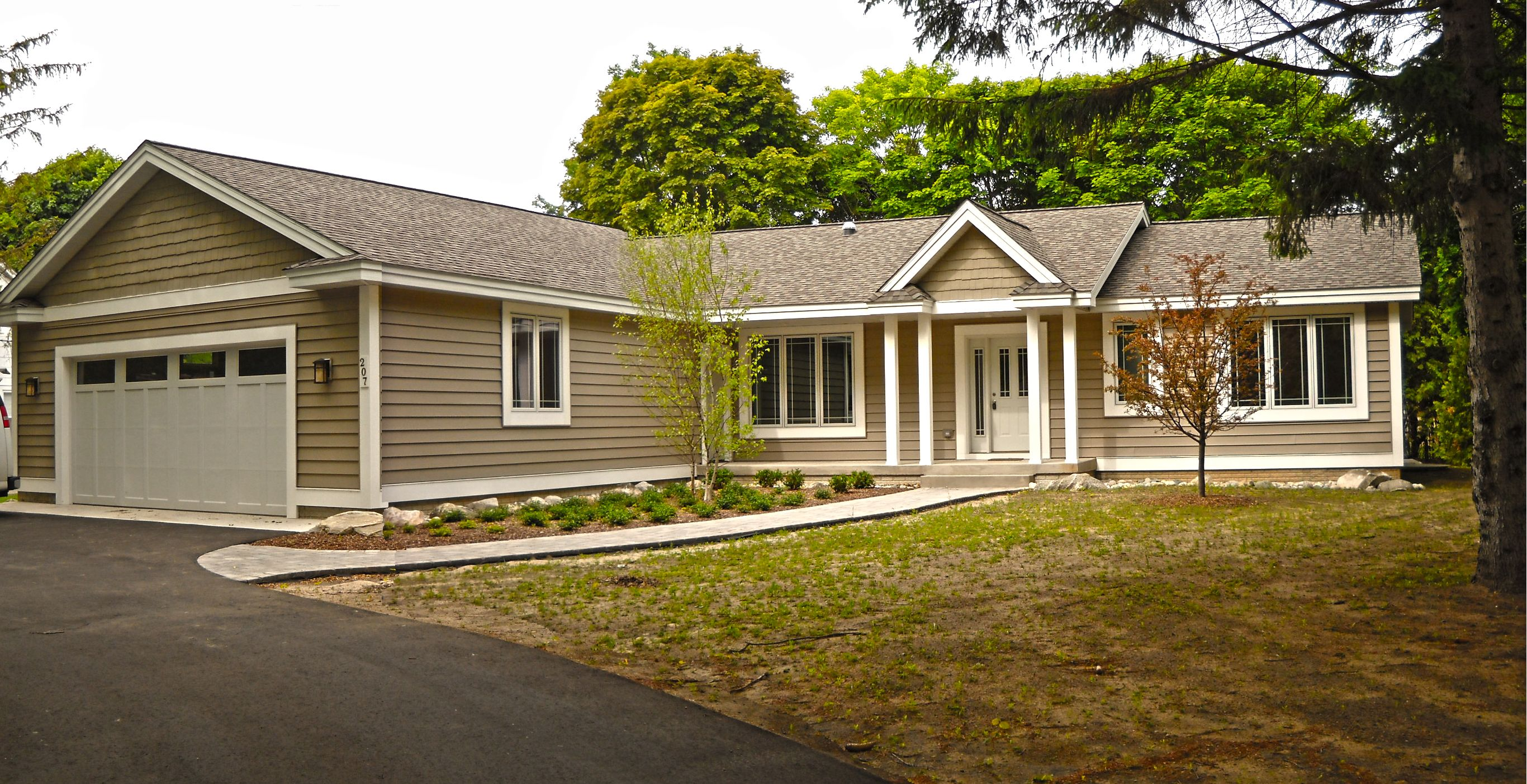 Hartford concept with Hardie Board siding | Ranches by ...