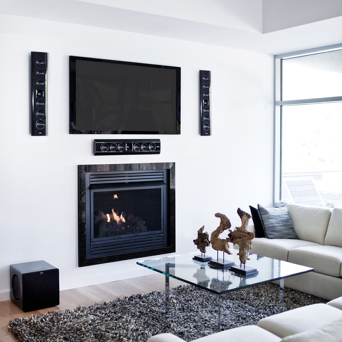 In Wall Mounted Entertainment System Everything Condo