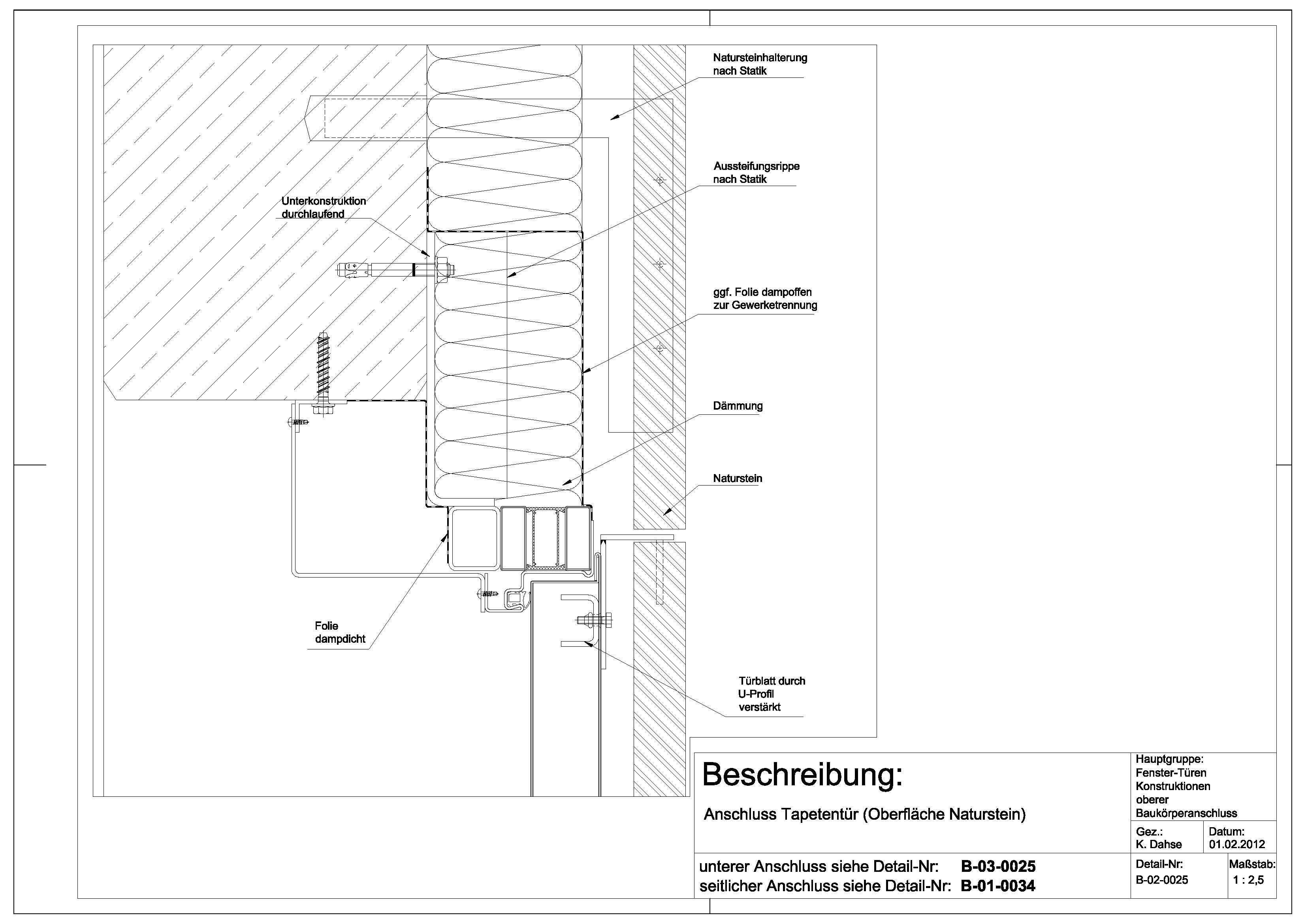 Tapetentür b 02 0025 anschluss tapetentür oberfläche naturstein architektur