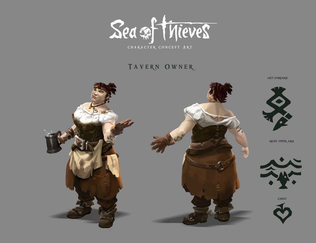Rare Sea of Thieves Art Blast Concept art characters, Art