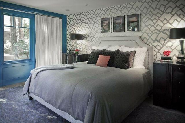 Farbe für Schlafzimmer 117 Bilder zum Inspirieren #white - wohnzimmer ideen grau
