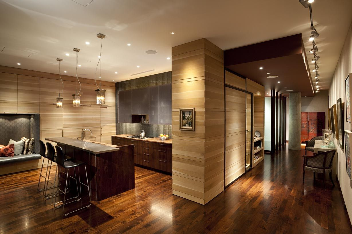 Best Trends Top 50 American Kitchens Contemporary Apartment 400 x 300