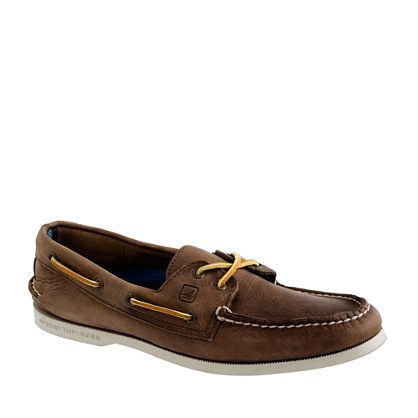 Sperry Top-Sider® for J.Crew Authentic Original broken-in leather boat