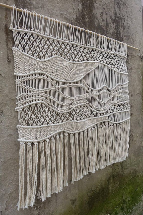 Most Recent Pics Macrame Wall Hanging Over Bed Thoughts Makramee Wandbehang Muster Makramee - Makramee Vorhang Hochzeit