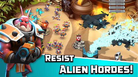 Download Alien Creeps TD MOD APK Unlimited Money Android