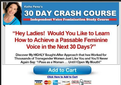 30 Day Crash Course Review I How To Achieve A Passable Feminine Voice In The Next