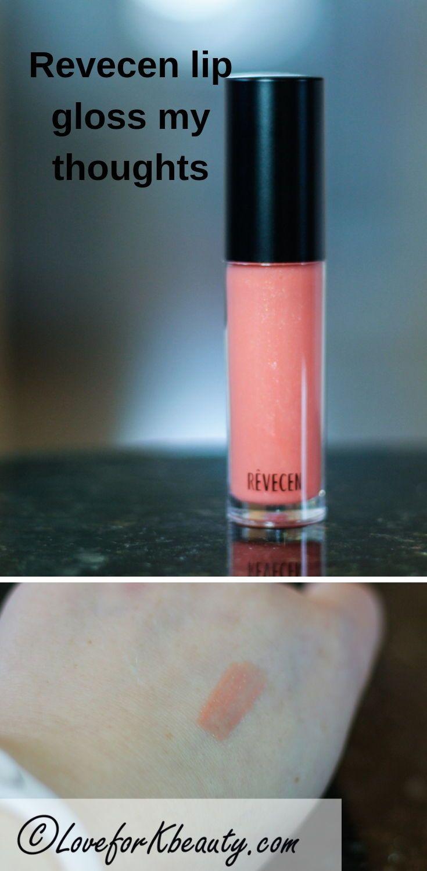 Revecen moisture shine lip gloss review #naturallipgloss