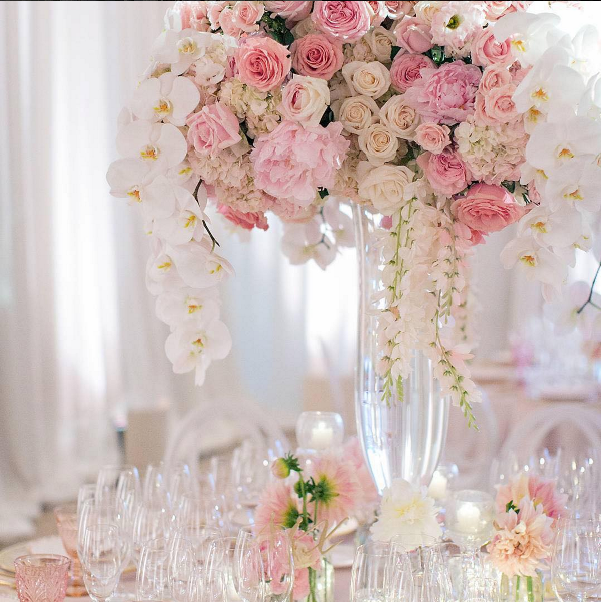 Colorful Tall Crystal Wedding Centerpieces Picture Collection - The ...