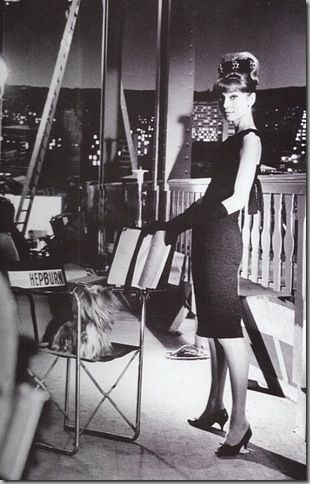Audrey Hepburn wearing Givenchy at the Ritz in `How to Steal a Million'