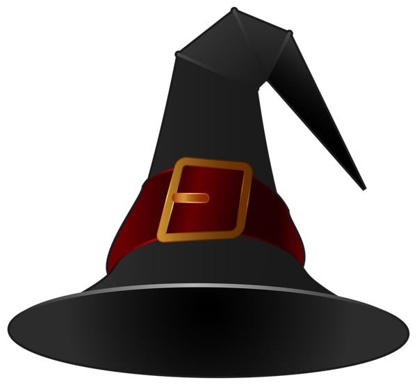 Black Witch Hat PNG Clipart Image | Halloween | Pinterest ...
