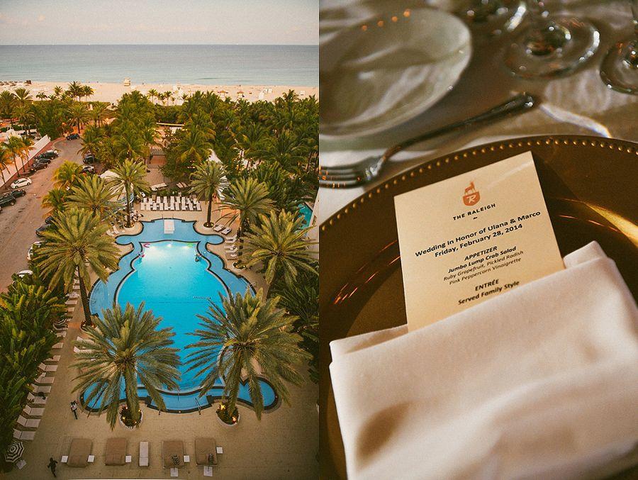The Raleigh Hotel Wedding | Miami Beach Wedding Photography by Moriah Cuda    moriahcudaphotography.com