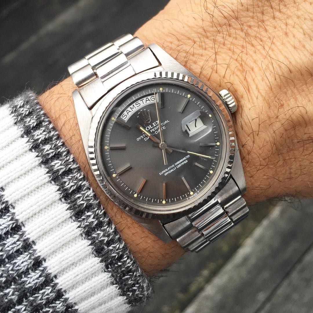 For Me One Of The Most Beautiful Dial For A 1803 Day Date Rolex