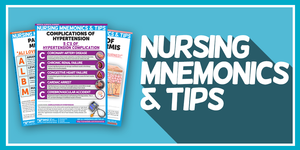 Nursing Mnemonics and Tips Nursing mnemonics, Nursing