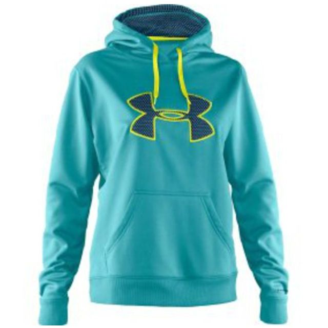 dc0fcbb6b9cd Under Armour hoodie. Aqua