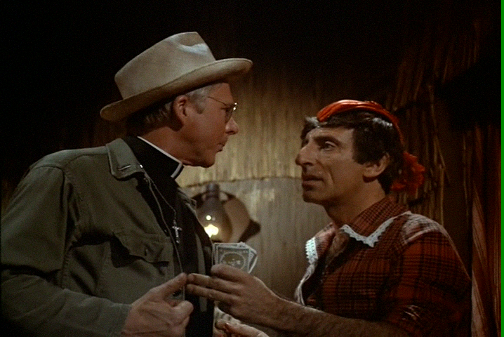M*A*S*H: Season 7, Episode 23 A Night at Rosie's (26 Feb. 1979) mash, 4077, William Christopher , Father Francis Mulcahy , Jamie Farr , Corporal Maxwell Q. Klinger