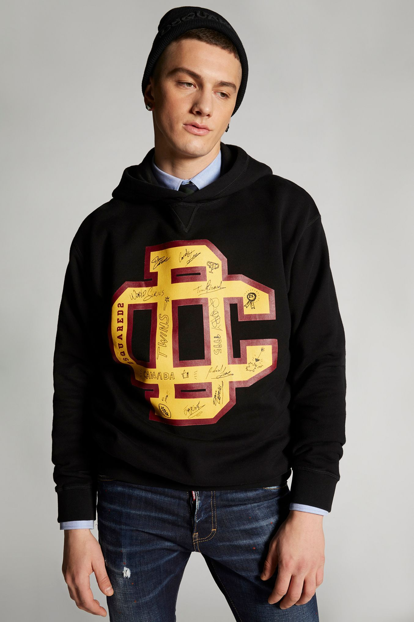 Dsquared2 Icon Sweatshirt Dsquared2 Cloth Sweatshirts Dsquared2 Jersey Sweatshirt [ 2136 x 1600 Pixel ]