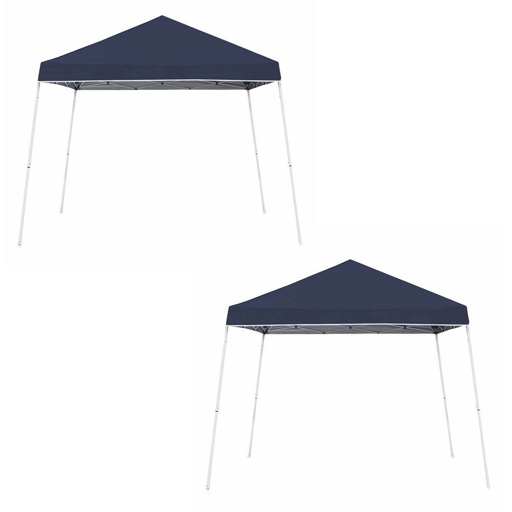 Z Shade 10 X 10 Instant Shade Outdoor Canopy Party Tent Shelter Navy 2 Pack Canopy Outdoor Party Tent Canopy Tent Outdoor