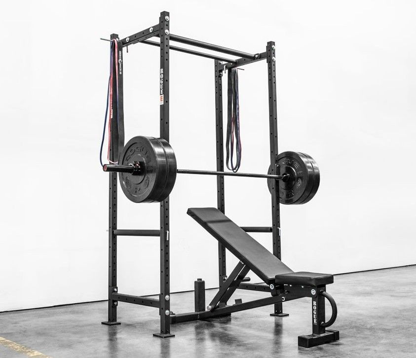 fitness gear bench rack