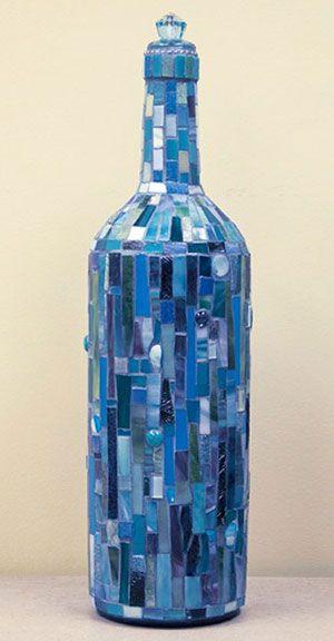 Decorated Glass Bottles Httpwwwcarmelartsanddesignfeaturesartofwineimages