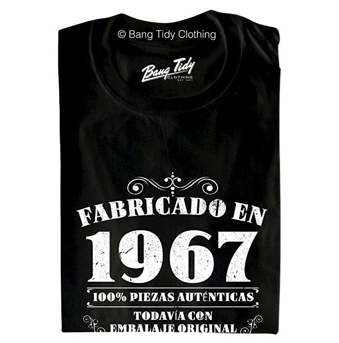 1967 GOLD Limited Edition 50th Birthday Party Shirt, 50 years old - best of tabla periodica berilio