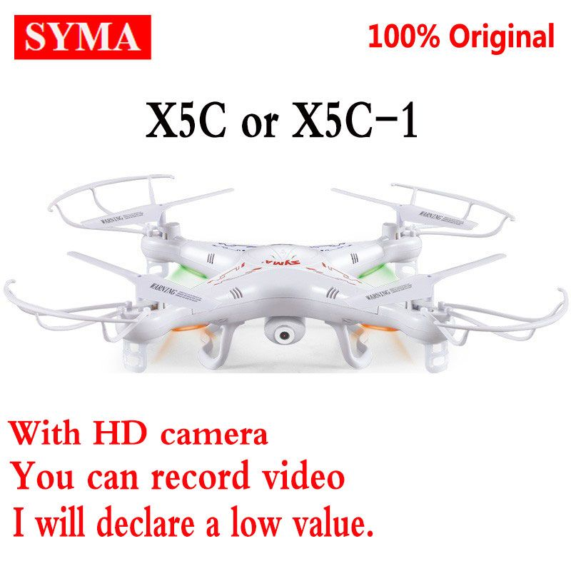 405d6e487ddb Original SYMA X5C-1 (Upgrade version Syma x5c) 2.4G Professional aerial  Camera Drone With 2.0MP Camera HD RC Quadcopter Dron Toy   Price   30.75    FREE ...