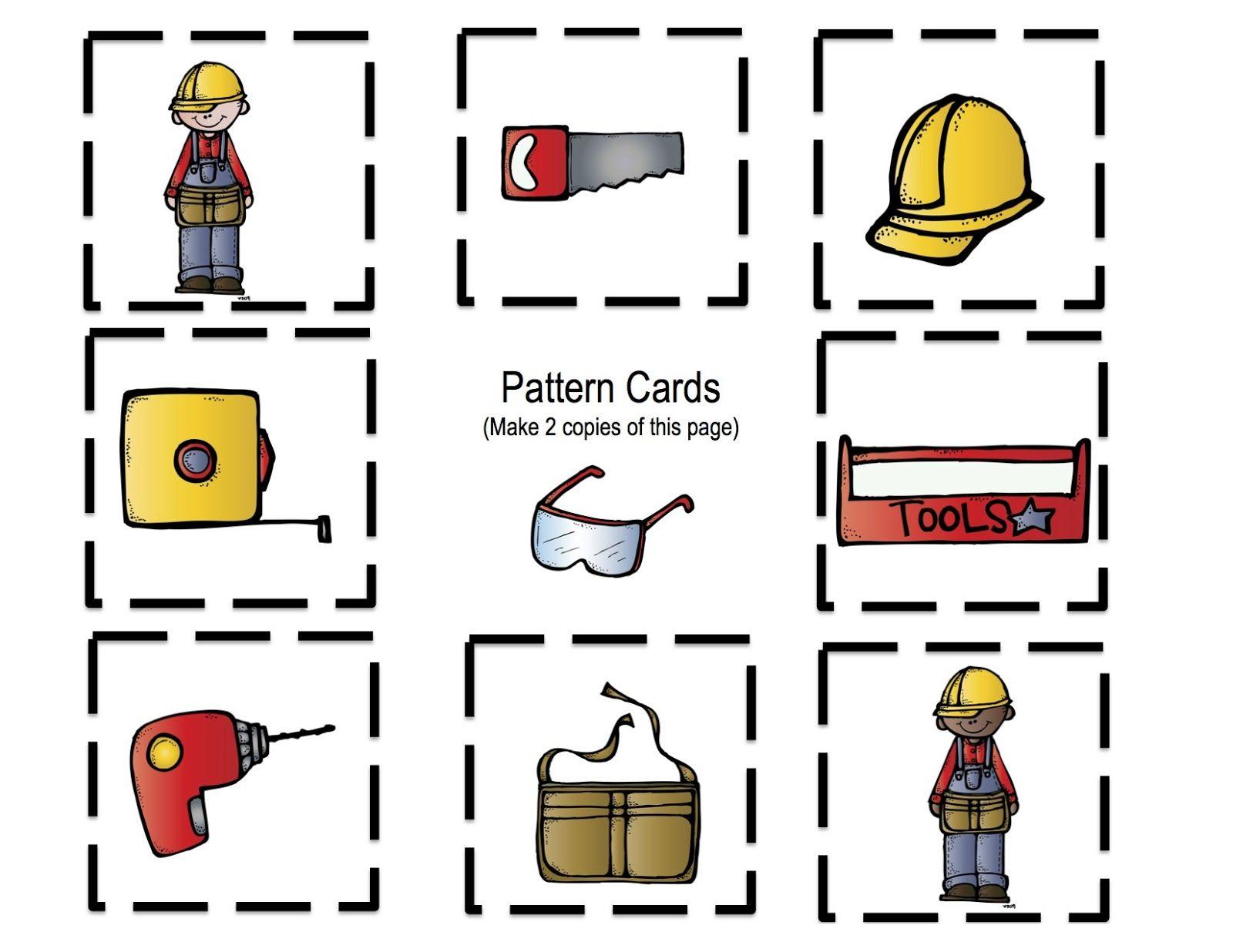 Preschool Printables All About Tools Printable