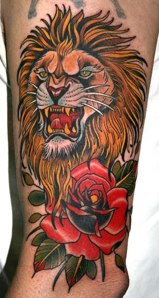 ed8461a22 old school lion tattoo designs | lion tattoo drawings tattoos ideas blog  archive lion tattoo art