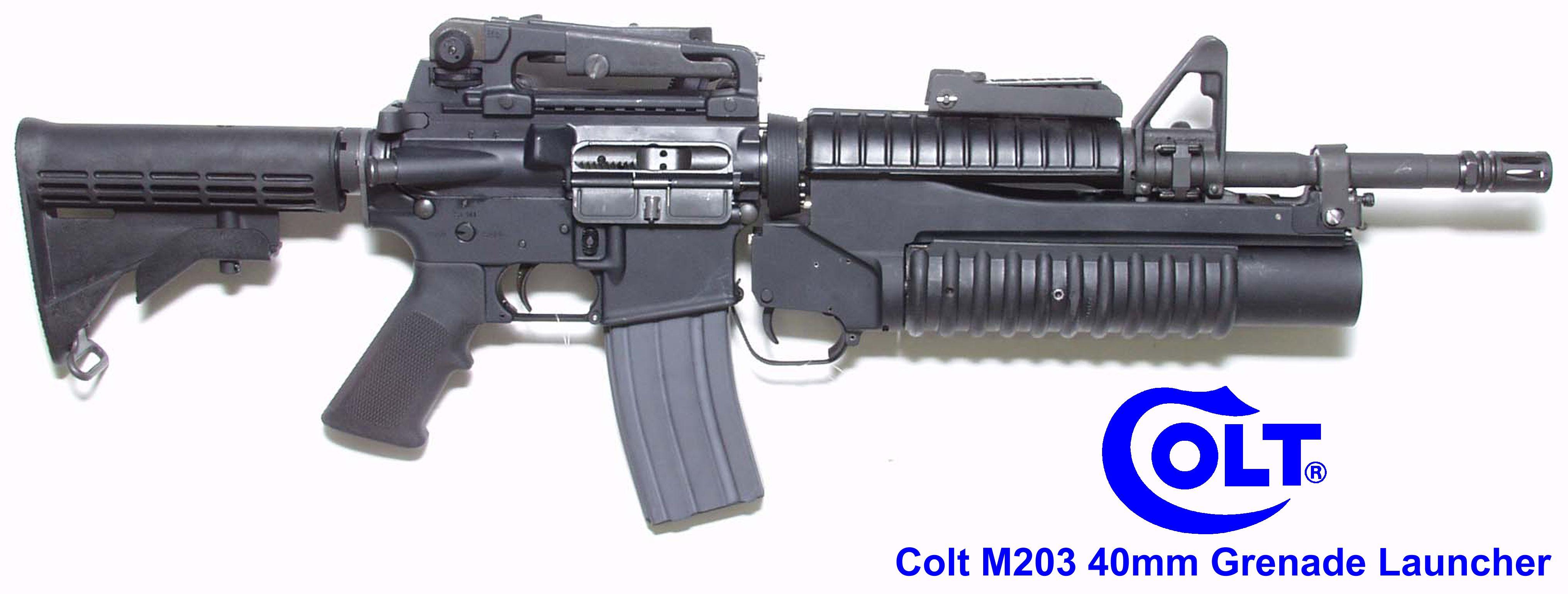 Colt M4 With M203 Gernade Launcher Right | Assault rifles