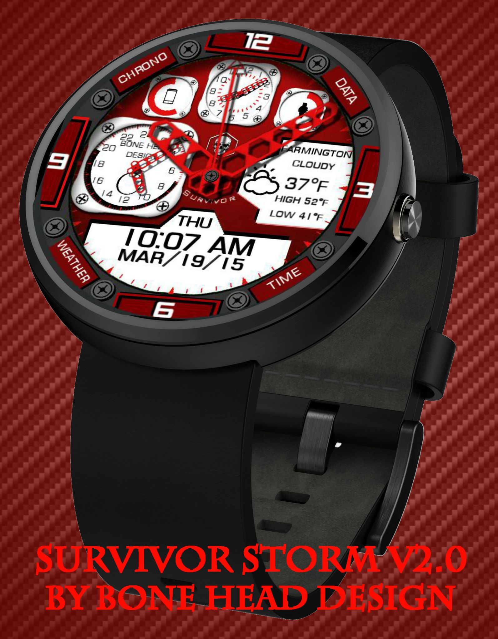Survival Starlight by Bone Head Design watch face preview