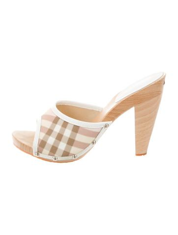 Burberry Exploded Check Slide Sandals nicekicks cheap price cheap price wholesale sale fashion Style visit new sale online prices for sale s0YFu5c9W