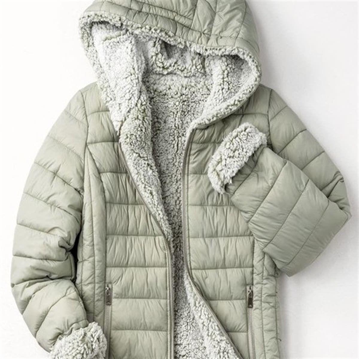 Reversible Sherpa Puffer Jacket Jackets Reversible Jackets Puffer Jackets [ 1200 x 1200 Pixel ]